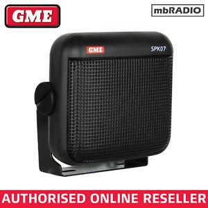 GME SPK07 Water Resistant Extension Speaker FOR HF, VHF, UHF, MARINE *BRAND NEW*