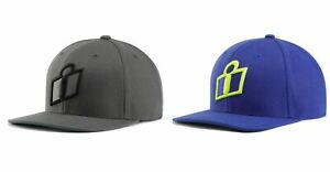Icon Status Hat - Gray or Blue - One Size Fits Alll Snapback