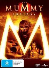 The Mummy Trilogy (DVD, 2009, 3 Dvd Set) regions 2,4
