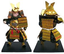 statuette poupée japonaise, Samouraï
