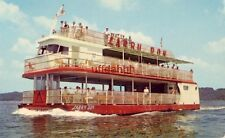 THE LARRY DON CRUISE BOAT triple-deck excursion boat Bagnell Dam LAKE OZARK, MO