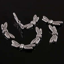 40Pc Tibetan Silver Dragonfly Wings Wing Loose Spacer Bead Jewelry Finding Charm
