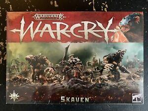 Warhammer AoS Warcry Skaven NIB