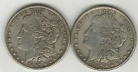 Two Headed 1897 Morgan (both sides) Magic Trick Coin - 1 COIN with 2 Heads!