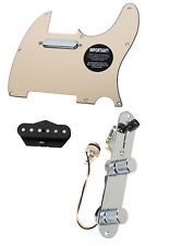 920D Fender Tele Telecaster Loaded Pre-Wired Pickguard Tex-Mex Pickups CR