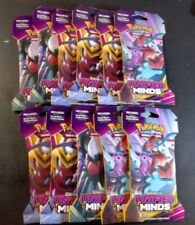 11x Unified Minds Sleeved Booster Pack-Pokemon  Sealed