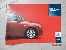 Catalogue SUZUKI nouvelle SWIFT septembre 2010
