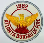 Atlanta Bureau Of Fire 1882 Georgia GA Patch (F6)