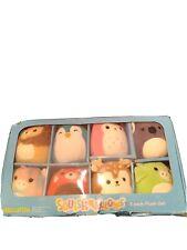 Squishmallows Mini Plush Set 8 Pack Kellytoy Dexter Dawn Tanner Cici New Sealed