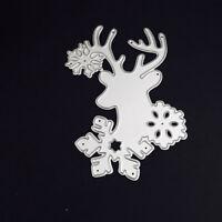 Snowflake Santa Claus Metal Cutting Dies Stencil DIY Scrapbooking Embossing Card