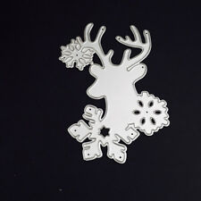 Santa Snowflake Cutting Dies Metal Set DIY Scrapbooking Christmas Cards Decor
