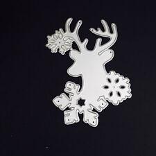 Santa Snowflake Cutting Dies Metal Set DIY Scrapbooking Christmas Cards Decor