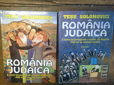 Romänia judaica / Tesu Solomovici Volumul 1 & 2