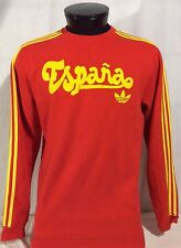 Adidas Spain Espana 40 Years Originals Long Sleeve Shirt Medium