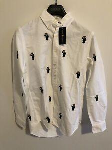 Brand New Rare Polo Bear Ralph Lauren Long Sleeve Shirt Men's Size S Mens
