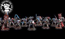 Custom PP - Warhammer 40K Grey Knights Terminators Army 15 metal,4 plasti minis