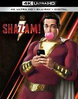 Shazam! w/ Slipcover (4K UHD + Blu-ray + Digital HD, 2019) *BRAND NEW/SEALED*
