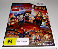 Lego Lord of the Rings Nintendo Wii PAL *Complete* Wii U Compatible
