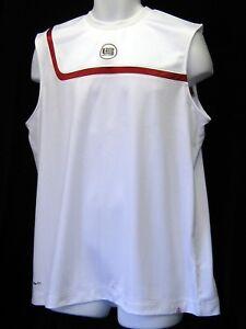Nuevo Nike Lebron Baloncesto Chaleco Camisa Jersey Blanco M