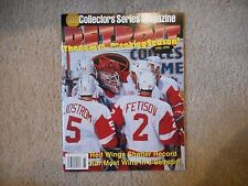 1995-1996 GOLD COLLECTORS SERIES MAGAZINE 62 WIN RECORD BREAKING SEASON!