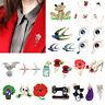 Frog Brooches Elegant Metal Badges Women Dress Sweater Lapel Collar Decor Pins