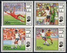 Fiji 1989 SG#798-801 World Cup Football MNH Set #A87169