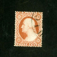 US Stamps # 25 F-VF Neat used type I Scott Value $175.00
