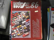 large Vitesse 1986 diecast catalogue in great condition