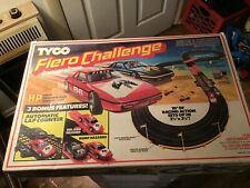 Vintage fiero challenge tyco racing track in original box  nice