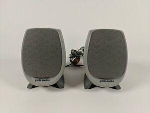 Polk Audio HIPS MINI Computer Desktop Speakers Tested Working Free Shipping!