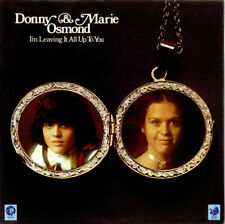 Donny & Marie Osmond I'm Leaving It All Up To You vinyl LP album record UK