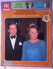 Point de Vue 5/10/1979; Le bonheur de Bétrix et Claus/ Jean Paul II pélerin Paix