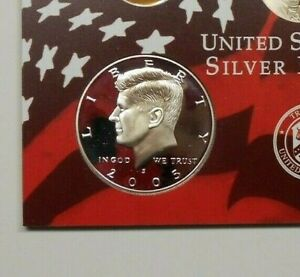 2005 KENNEDY SILVER PROOF ~ 90% SILVER ~ COMBINE SHIPPING