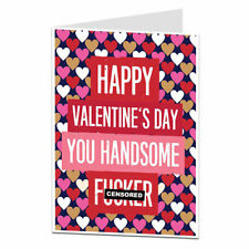 Funny Valentines Card For Him Husband Boyfriend