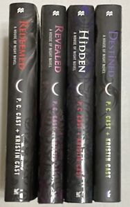 House Of Night Series Lot of 4 HC Books - 9, 10, 11, 12 Destined Hidden Revealed