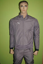 PUMA Trainingsanzug Rückenprint P.A.O.K. Academy Footballprint Gr.176 Kinder