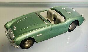 Tekno Austin Healey 100 Metallic Green With Grey Interior. Screen Not Original
