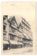 caen , maison de bois , rue st-pierre