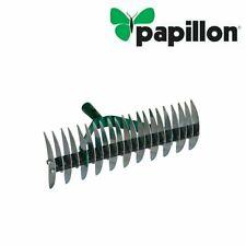 Rastrello sarchiatore acciaio con 32 denti in acciaio zincato  PAPILLON