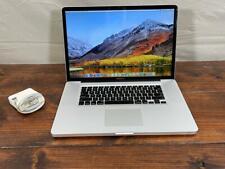 """AMAZING 2011 17"""" MacBook Pro 2.2ghz QUAD i7 / 8GB Ram / 500GB SSD"""