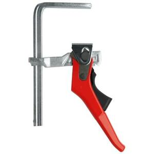 Bessey GTR16S6H 6-5/16 x 2-5/16-Inch Throat 2,400N Steel Table Bar Clamp