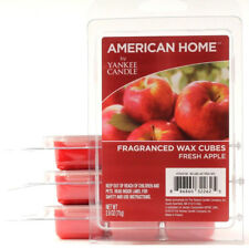 4 Packs American Home By Yankee Candle Fragranced Wax Cubes Fresh Apple