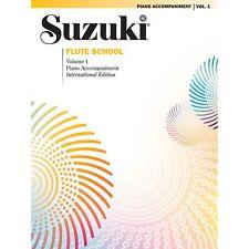 Suzuki Flute School - Piano Accompaniment-Volume 1