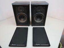 Pair 2 Vintage Infinity RS125 Bookshelf Speakers - need new foam - nice!