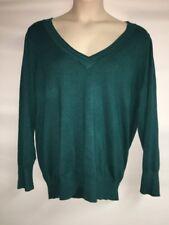 Lane Bryant Sweater Plus Size 26/28 Womens Green Lightweight NWOT