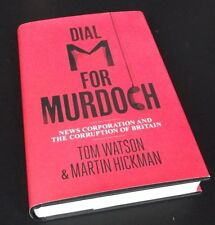 Tom Watson: DIAL M FOR MURDOCH 1st Edition Hardcover