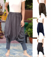 Bohemian Fashion Machine Washable Regular Size Pants for Women