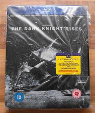 BATMAN - THE DARK KNIGHT RISES - BLU-RAY STEELBOOK LIMITED & RARE - NEW & SEALED