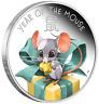 2020 Lunar Baby: Mouse 1/2 oz Silver Proof 50c Perth Mint COA & PresentationCase