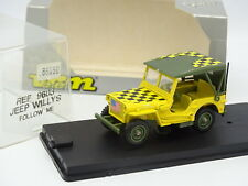 Verem Militare Esercito 1/43 - Jeep Willys Follow Me
